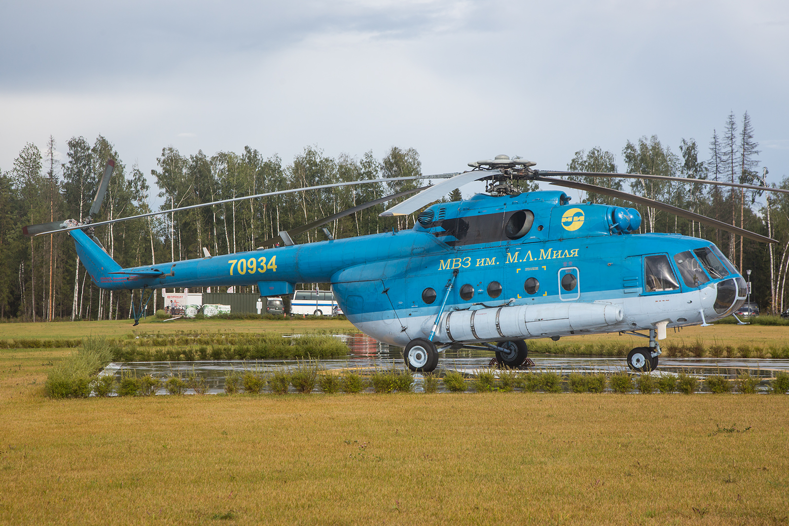 Eine Mi-8 des OKB Mil am Park Patriot