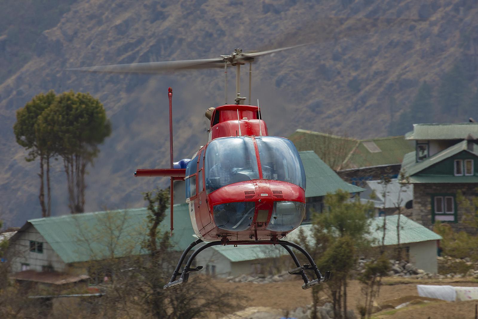Bell 206 Jet Ranger.