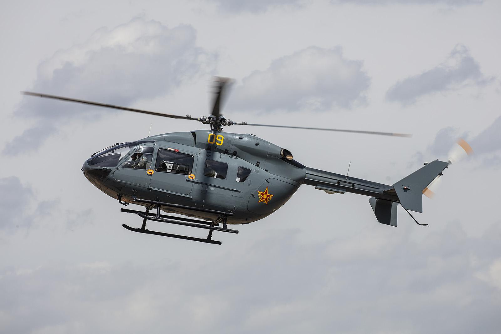Nun kommen die kleineren Hubschrauber vom Typ Airbus H145 zum Einsatz.
