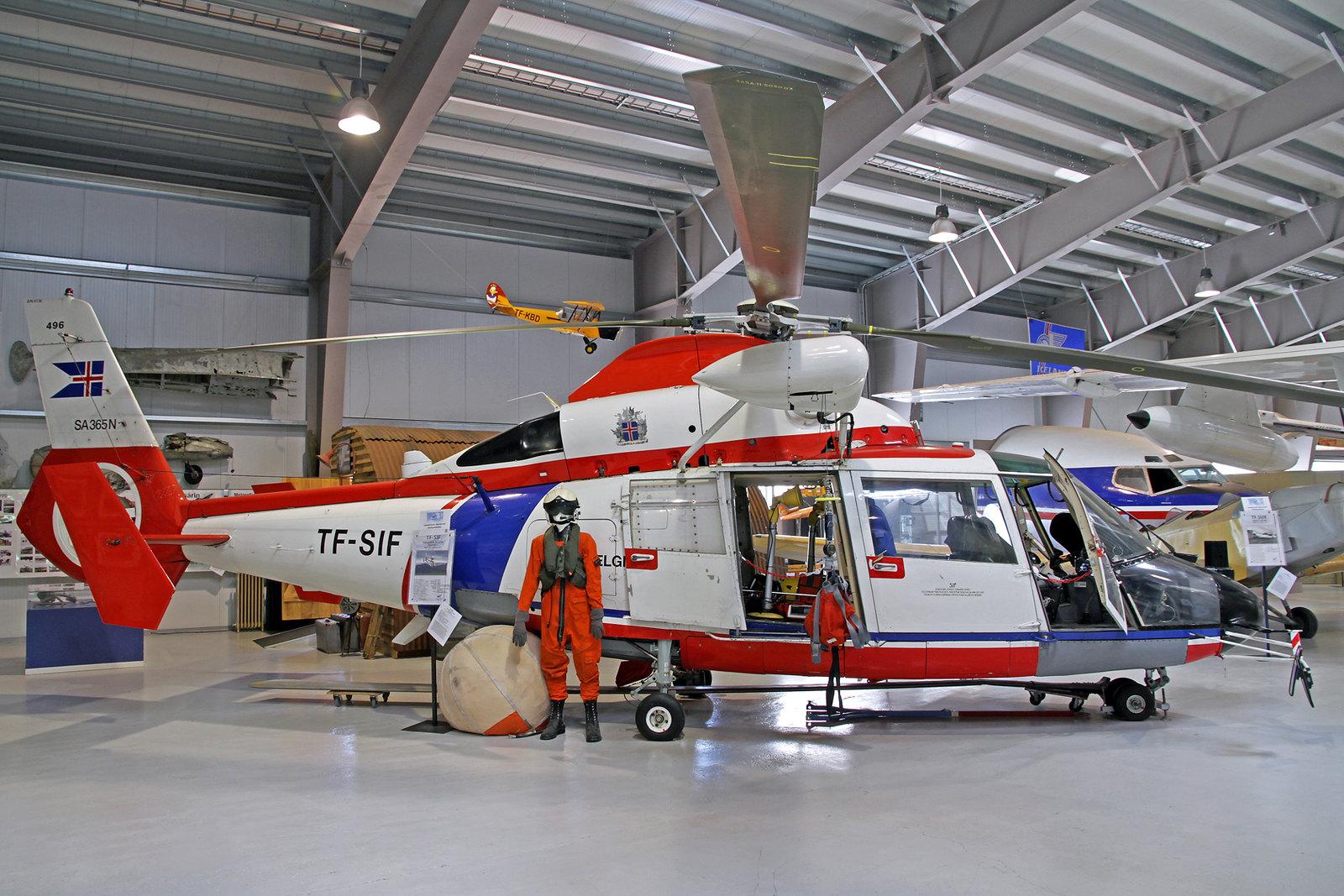 Landhelgisgæslan (Icelandic Coast Guard) Aerospatiale SA.365N Daupin 2 TF-SIF, AEY, August 2020
