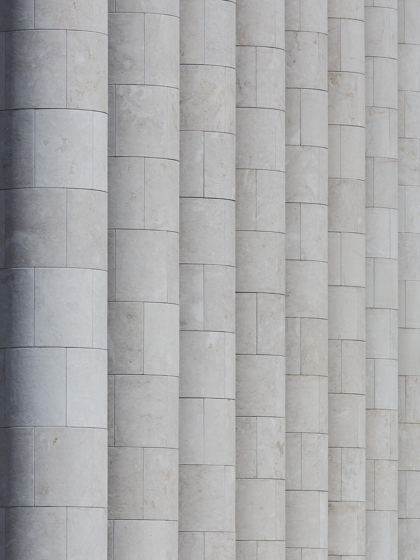 Die Säulen der Astana Opera