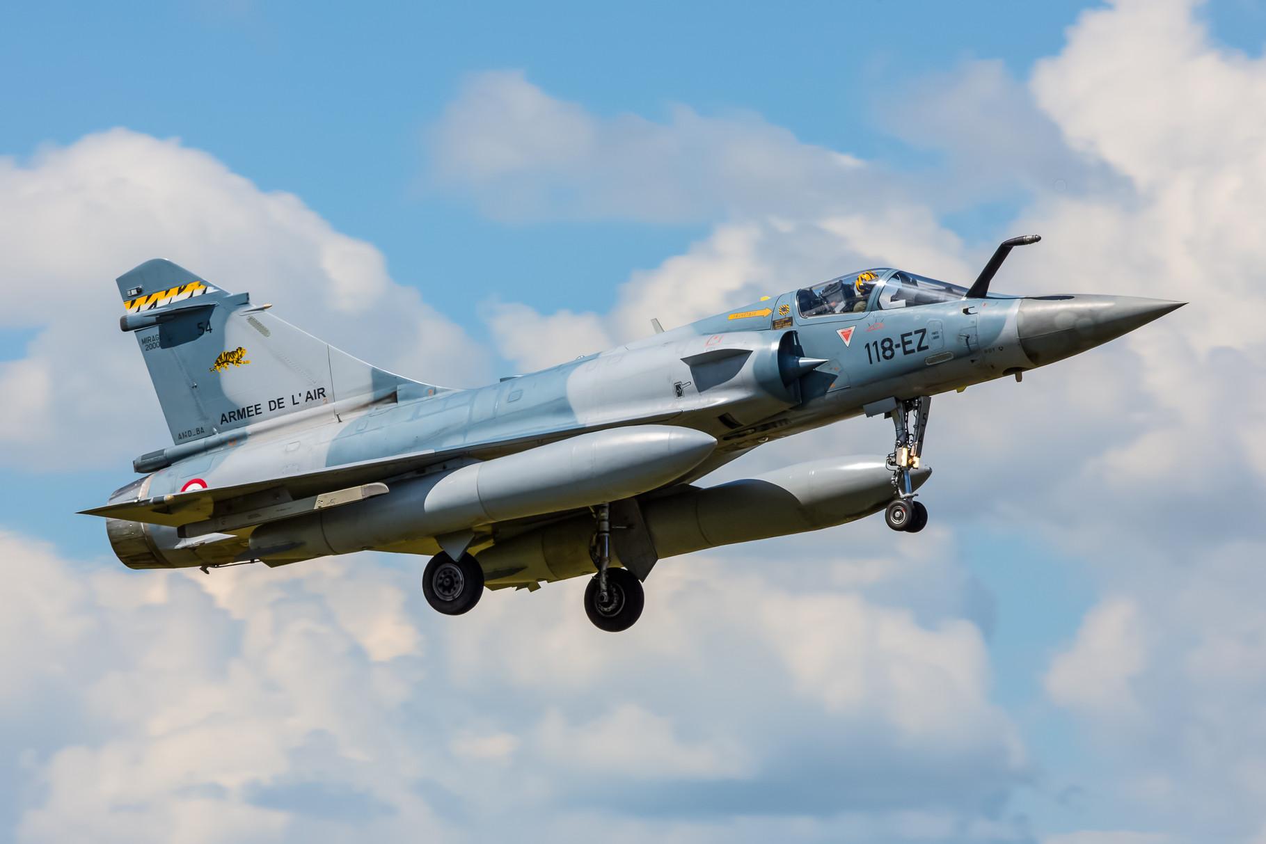Mirage 2000-5 der der ECE05.330 aus Mont de Marsan