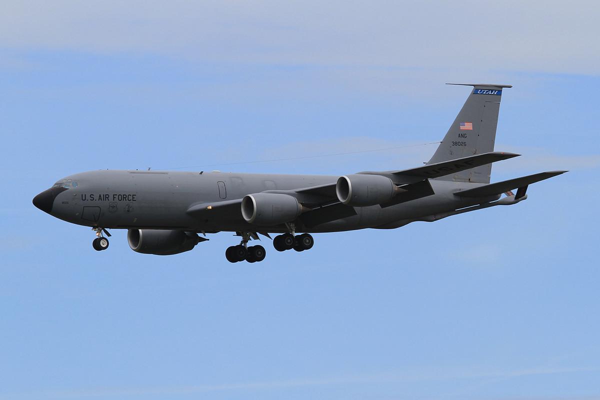 03.06.2013; 63-8026, KC-135R der Utah ANG (151 ARW, Salt Lake City ANG)
