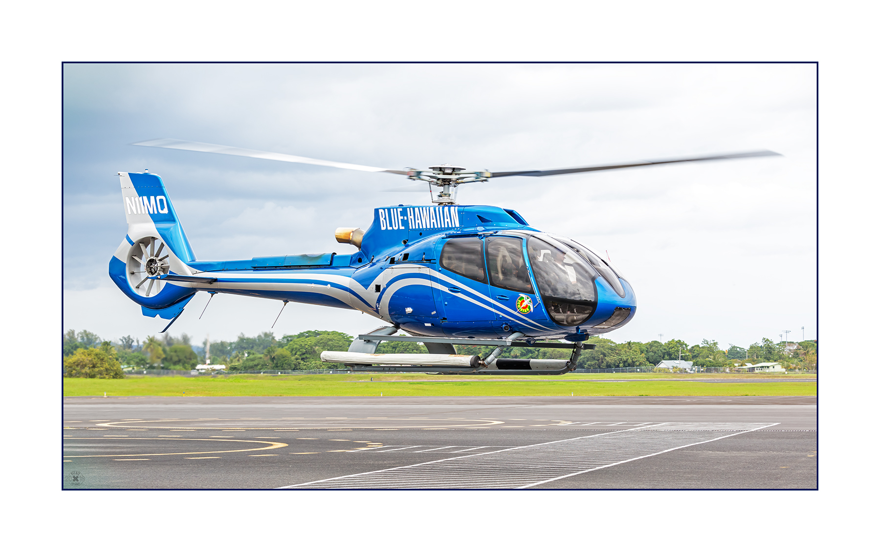 Airbus EC130T2 Eco Star Blue Hawaiian N11MQ