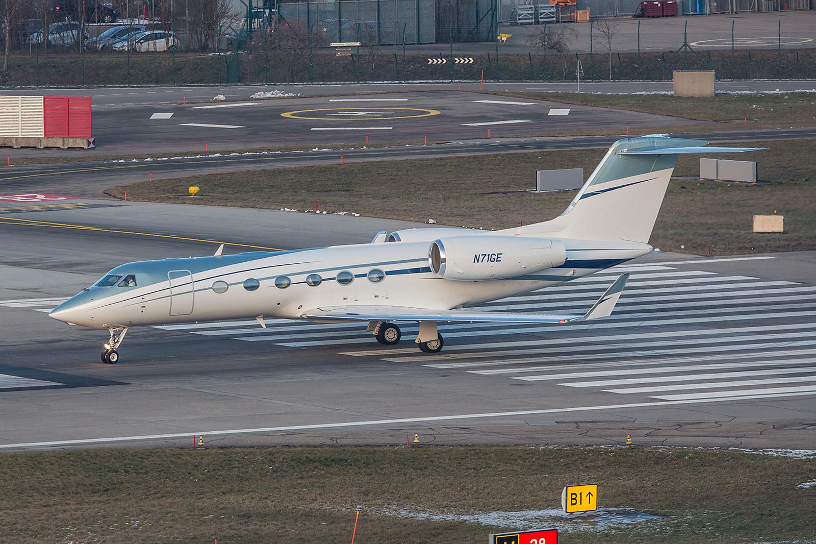 N71GE; Wilmington Trust Gulfstream G450