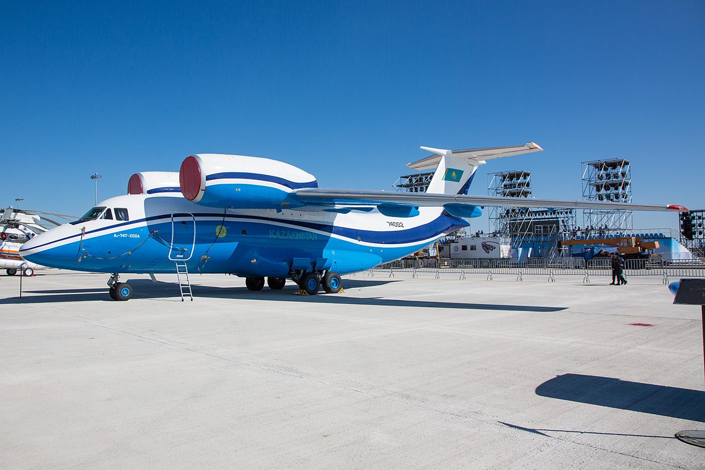 Antono An-74 des kasachsichen Grenzschutzes.