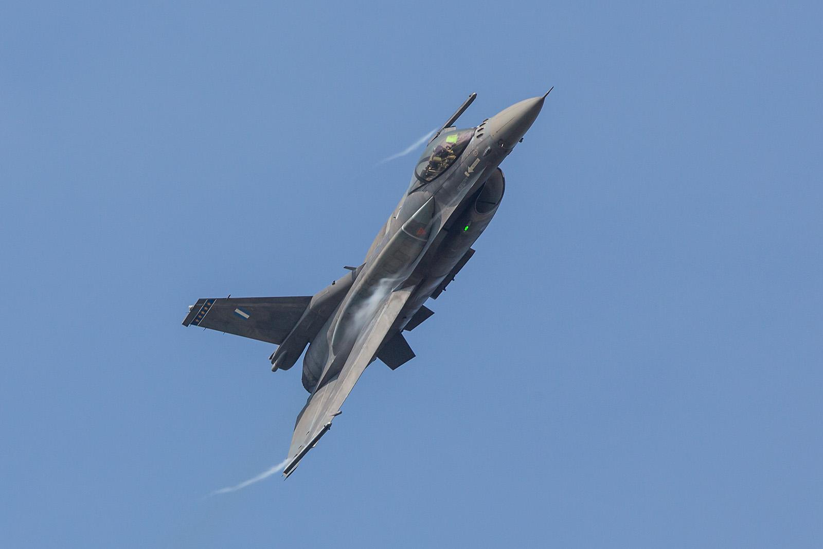 "Griechische F-16C Block 52+ des ""Team Zeus""."