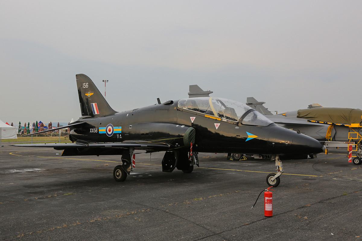 BAE Hawk aus RAF Valley