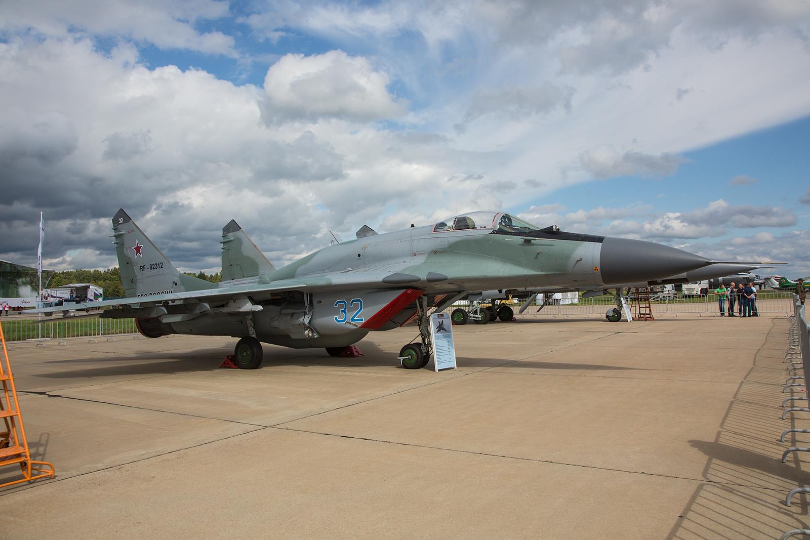 MiG-29SMT der Luftstreitkräfte.