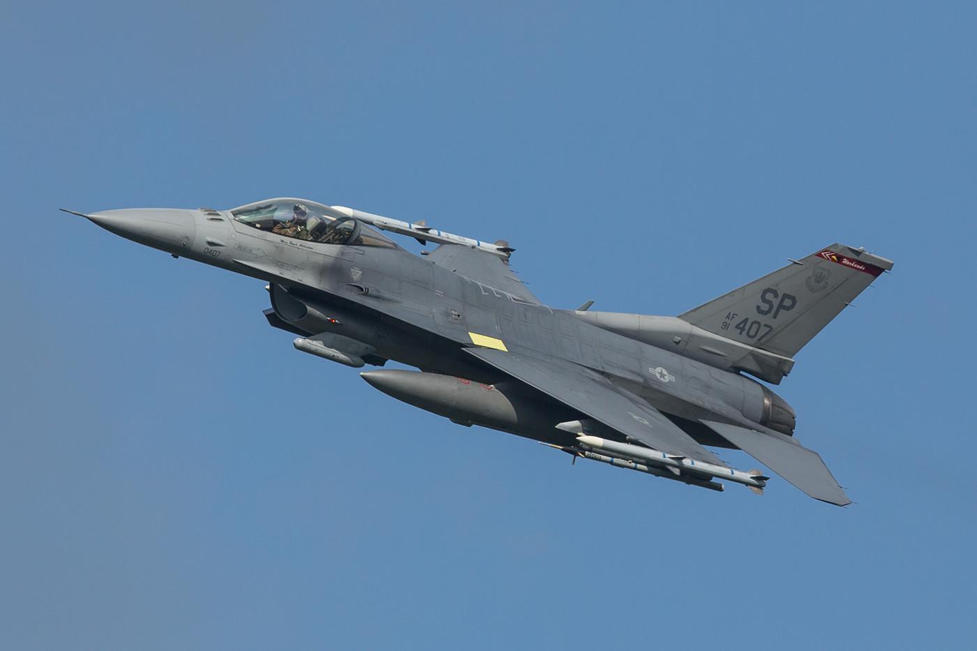 SPM 03.09.2015; 91-0407, F-16C, 52nd FW Spangdahlem (Deutschland)