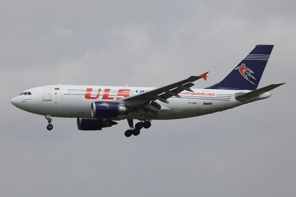 ULS Cargo mit einem Airbus A 310 aus der Türkei.