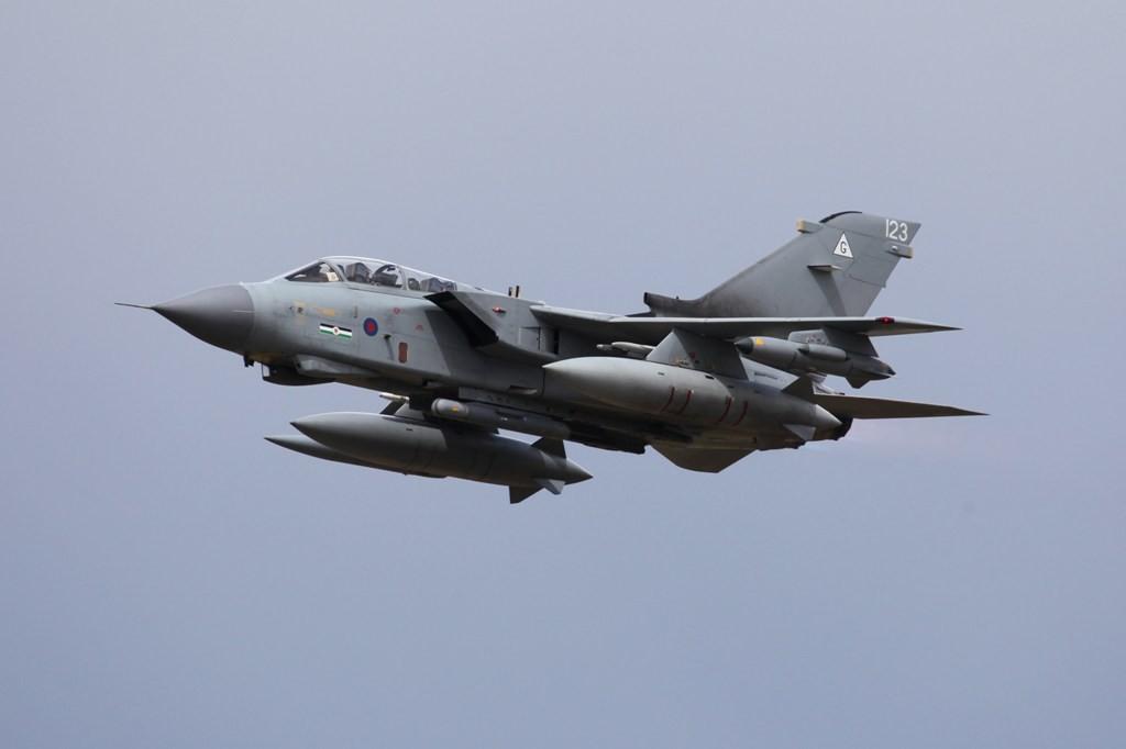 Ein Tornado GR.4 aus Marham.