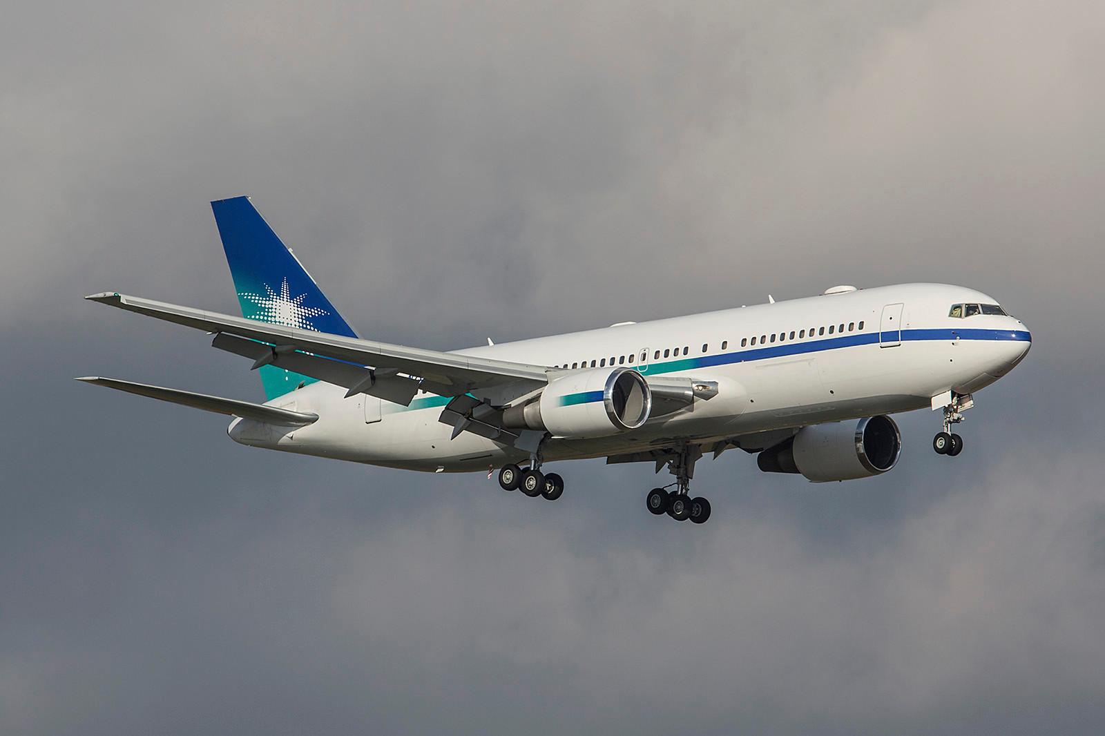 N767A; Saudi Amramco Boeing 767-2AXER
