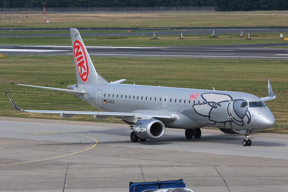 Nochmals eine LGW Embraer, weil sie so schön ist.