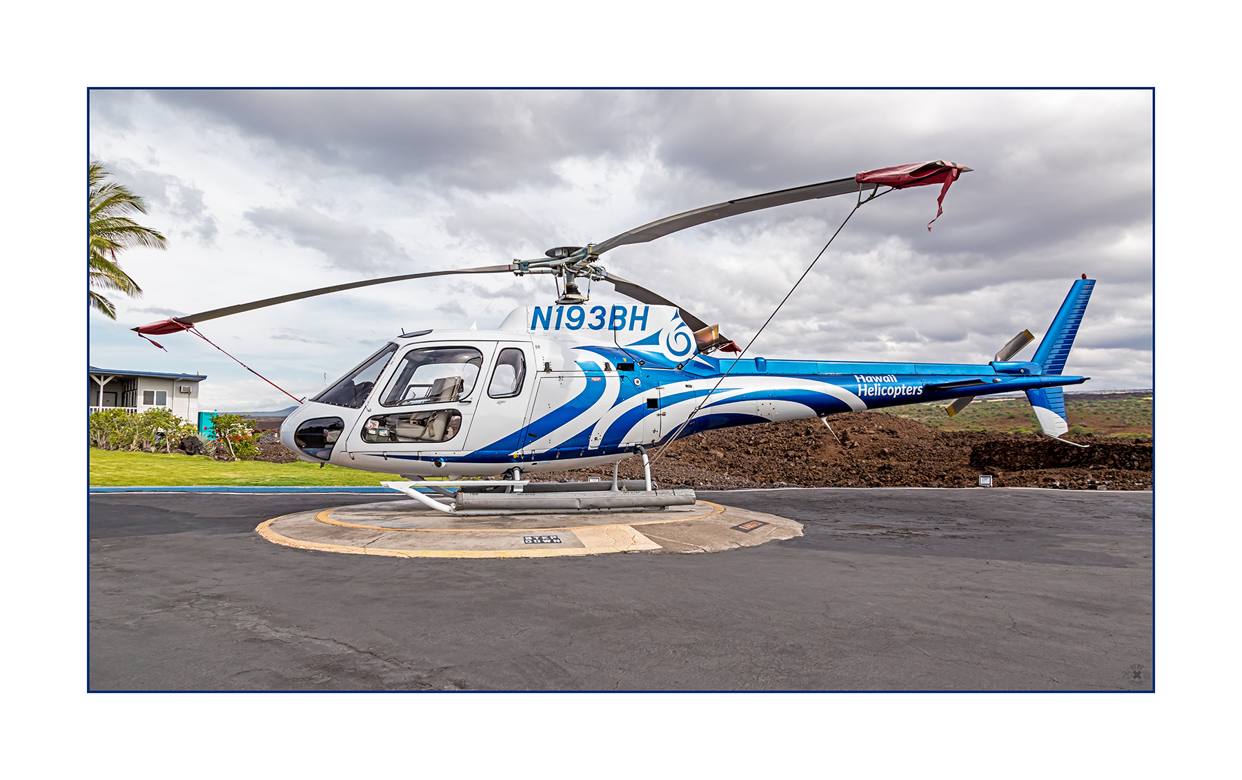 Airbus AS350-B2 A-Star N193BH Hawaii Helicopters am Waikoloa Heliport