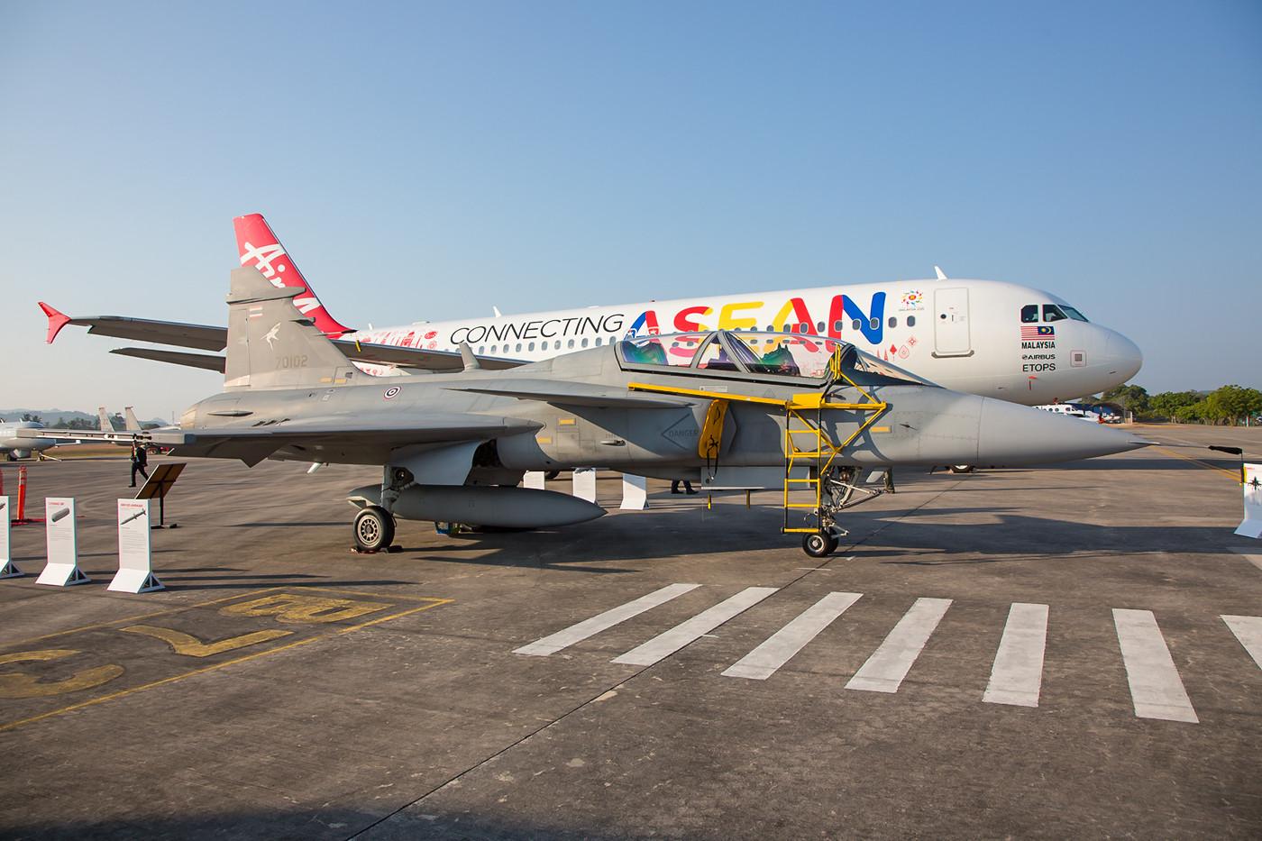 Saab JAS 29 Gripen der RTAF.
