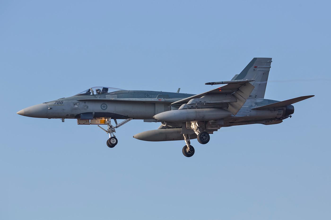 SPM 13.02.2015; 188786, CF-18A,425th TFW CFB Bagotville (Quebec)