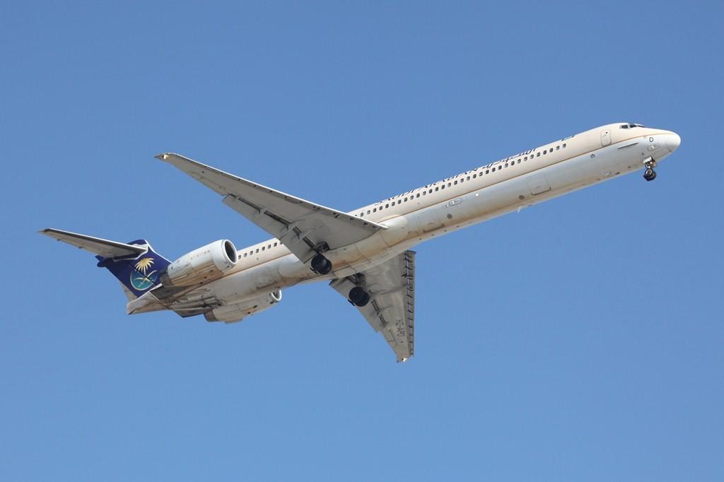 Die MD 90 haben die Flotte der Saudi Arabian Airlines verlassen. Heute betreibt nur noch Delta Airlines diesen Typ.