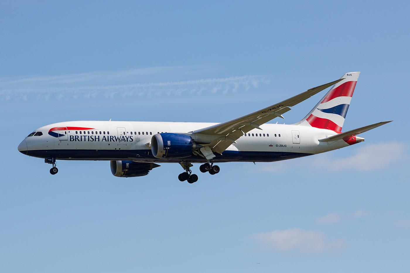 BA setzt beim Dreamliner noch aus die kürzere Variante.