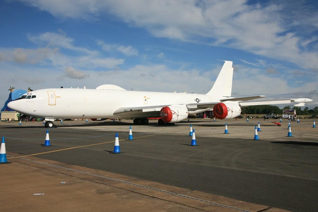 E-6B Mercury der US Navy aus Moffut, Nebraska.