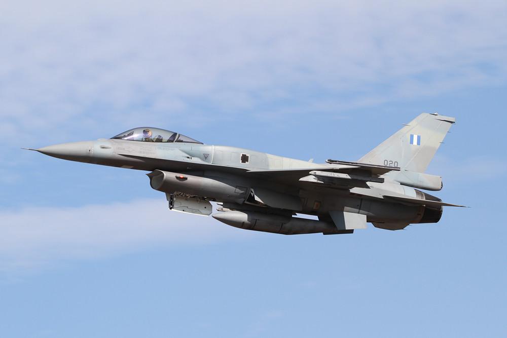 020, F-16C Block 52+ aus Souda Bay