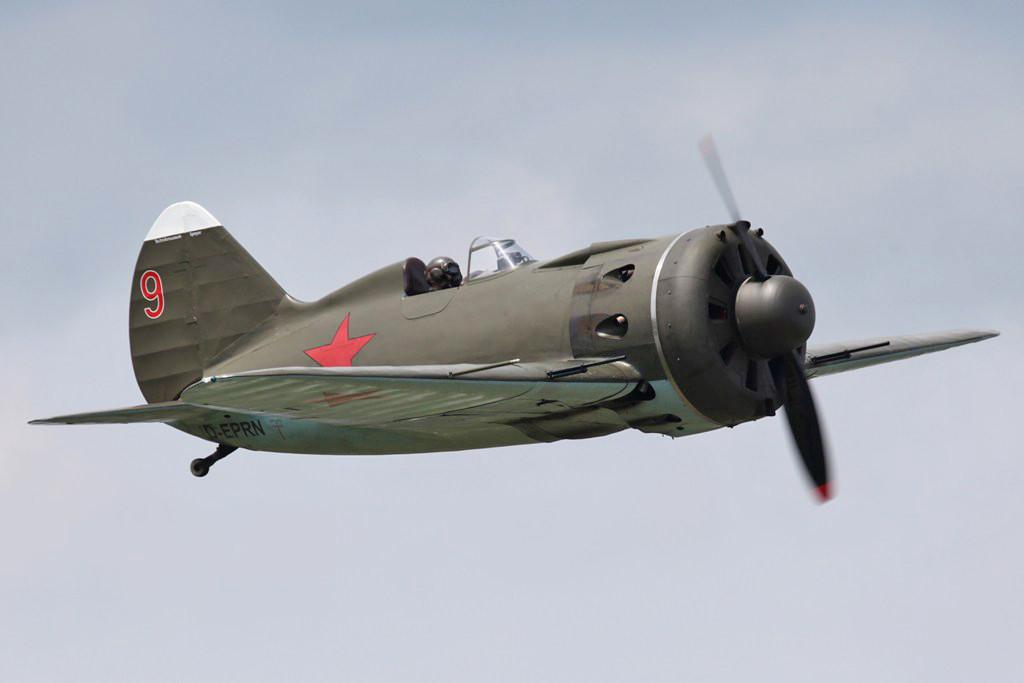 Er hatte gegen die modernen ME-109 der Luftwaffe aber schlechte Chancen.