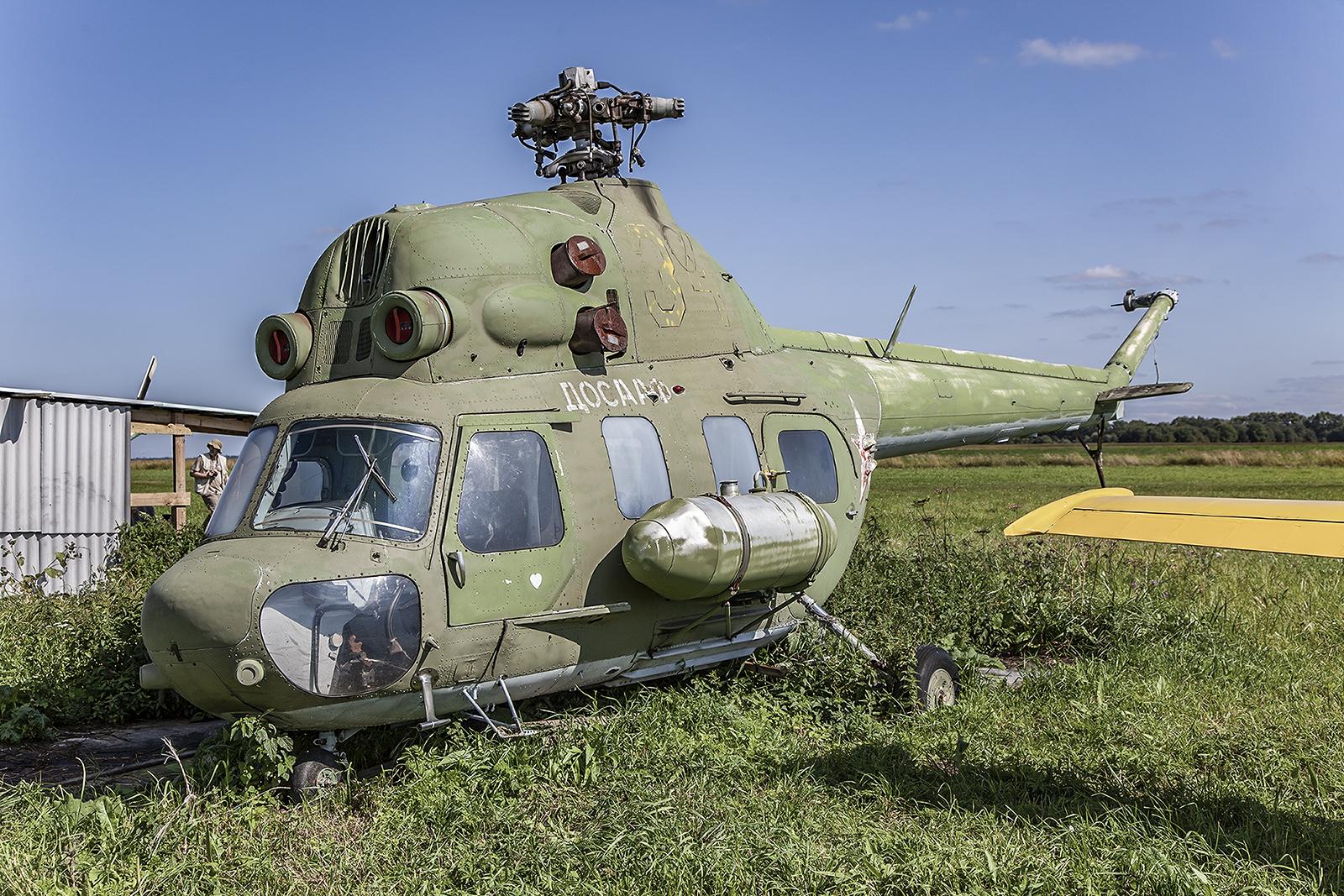 Mi-2 der DOOSAF oder das was davon übrig ist.