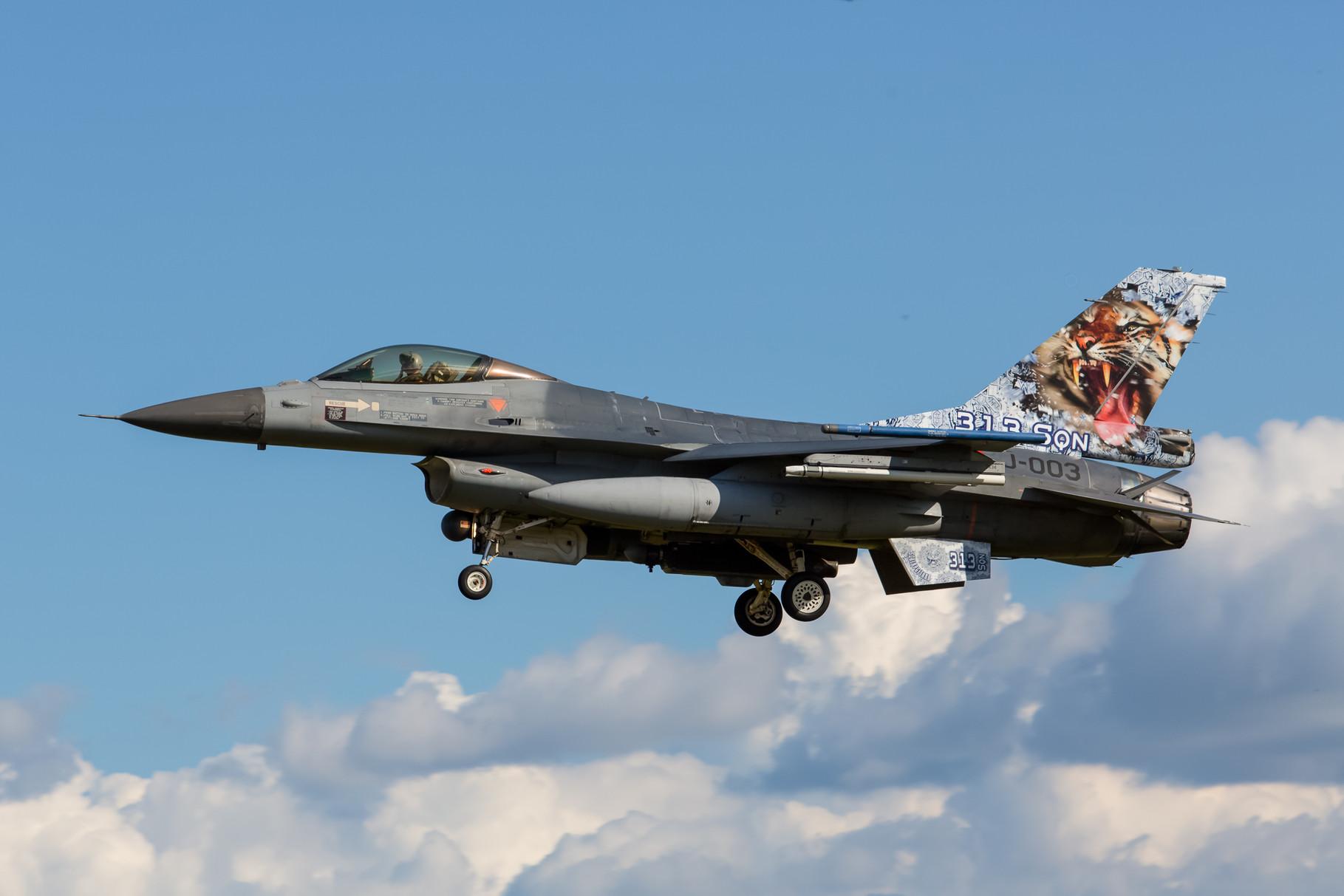 F-16C der 313 Sqn aus Volkel