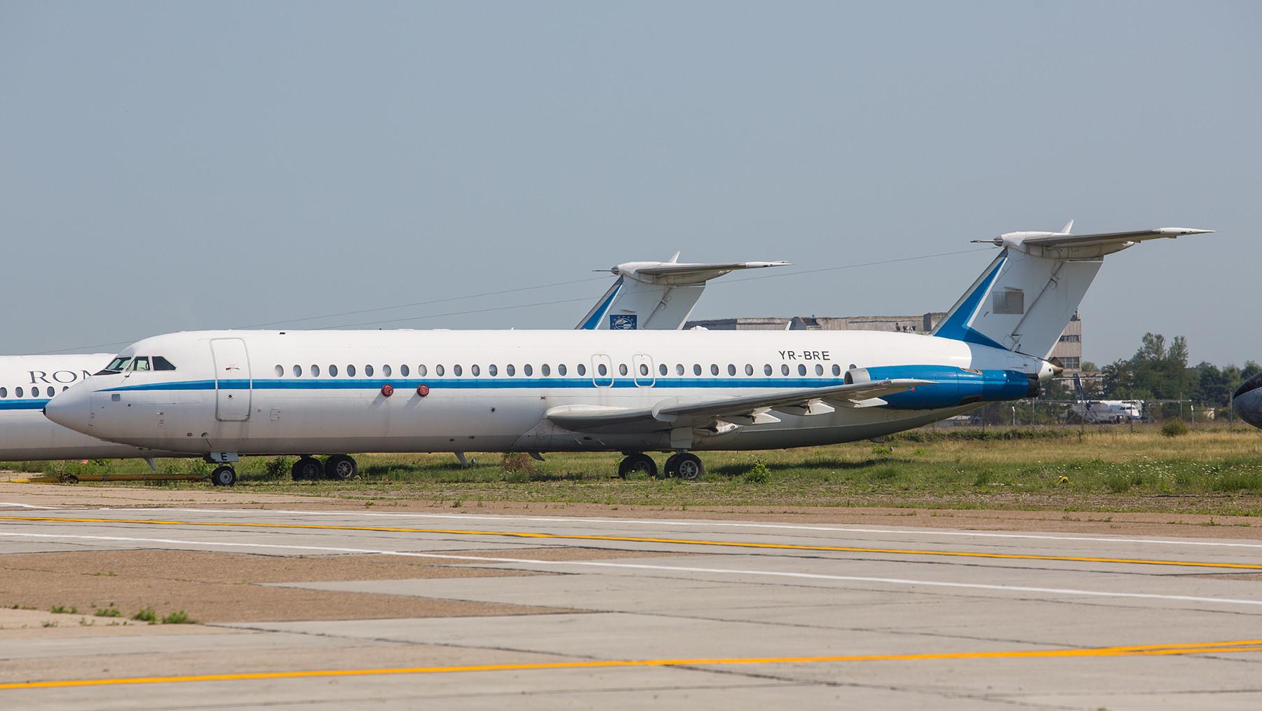 Leider sind sie schon seit vielen Jahren GEschichte, die BAC-1-11 der ROMAVIA.