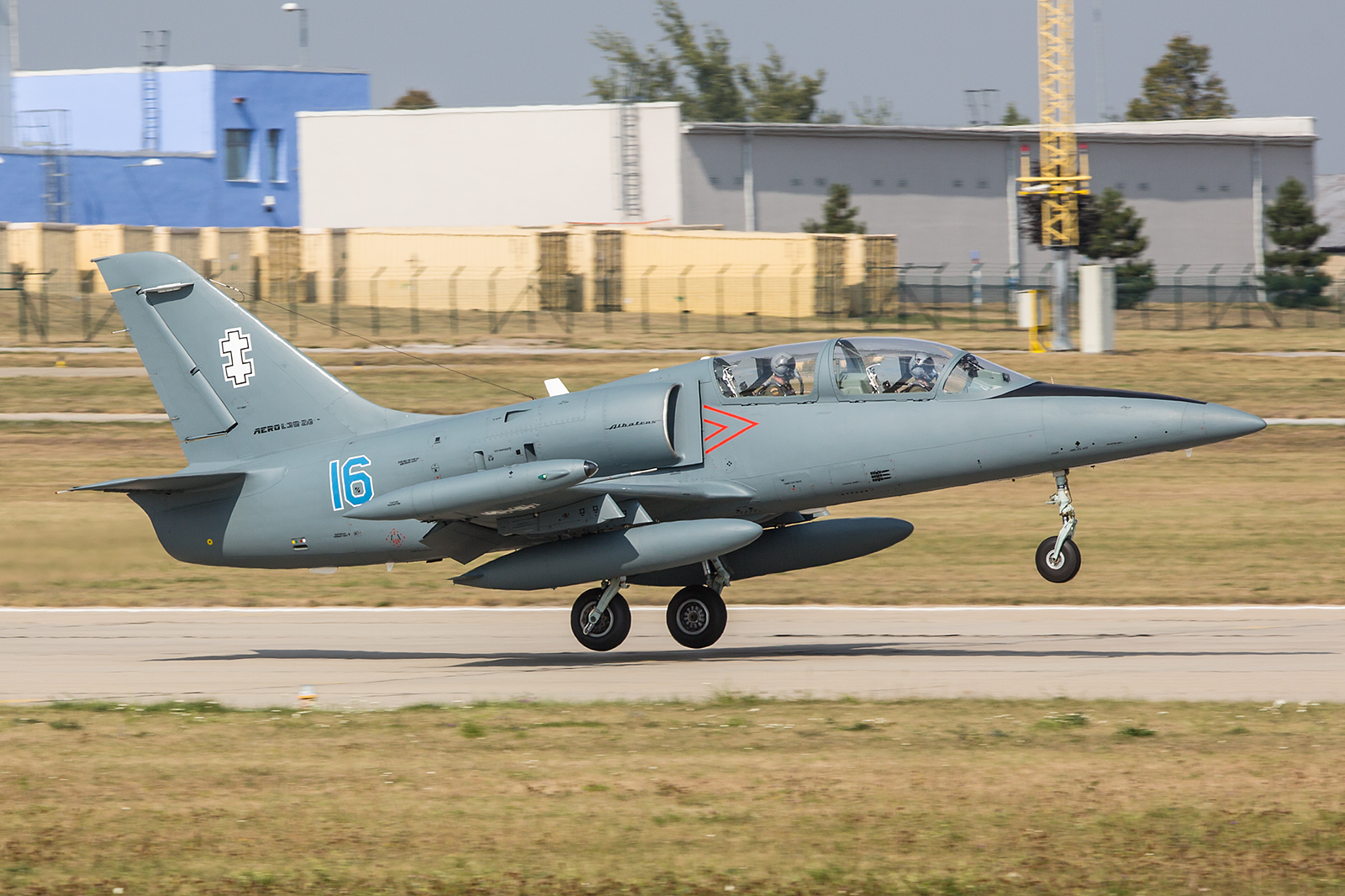 Ein eher seltener Gast in West- und Mitteleuropa sind die L-39 aus Litauen