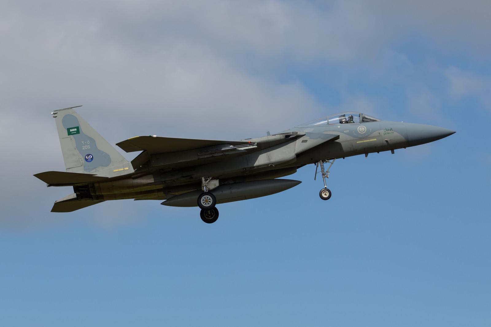 214, F-15C der RSAF.