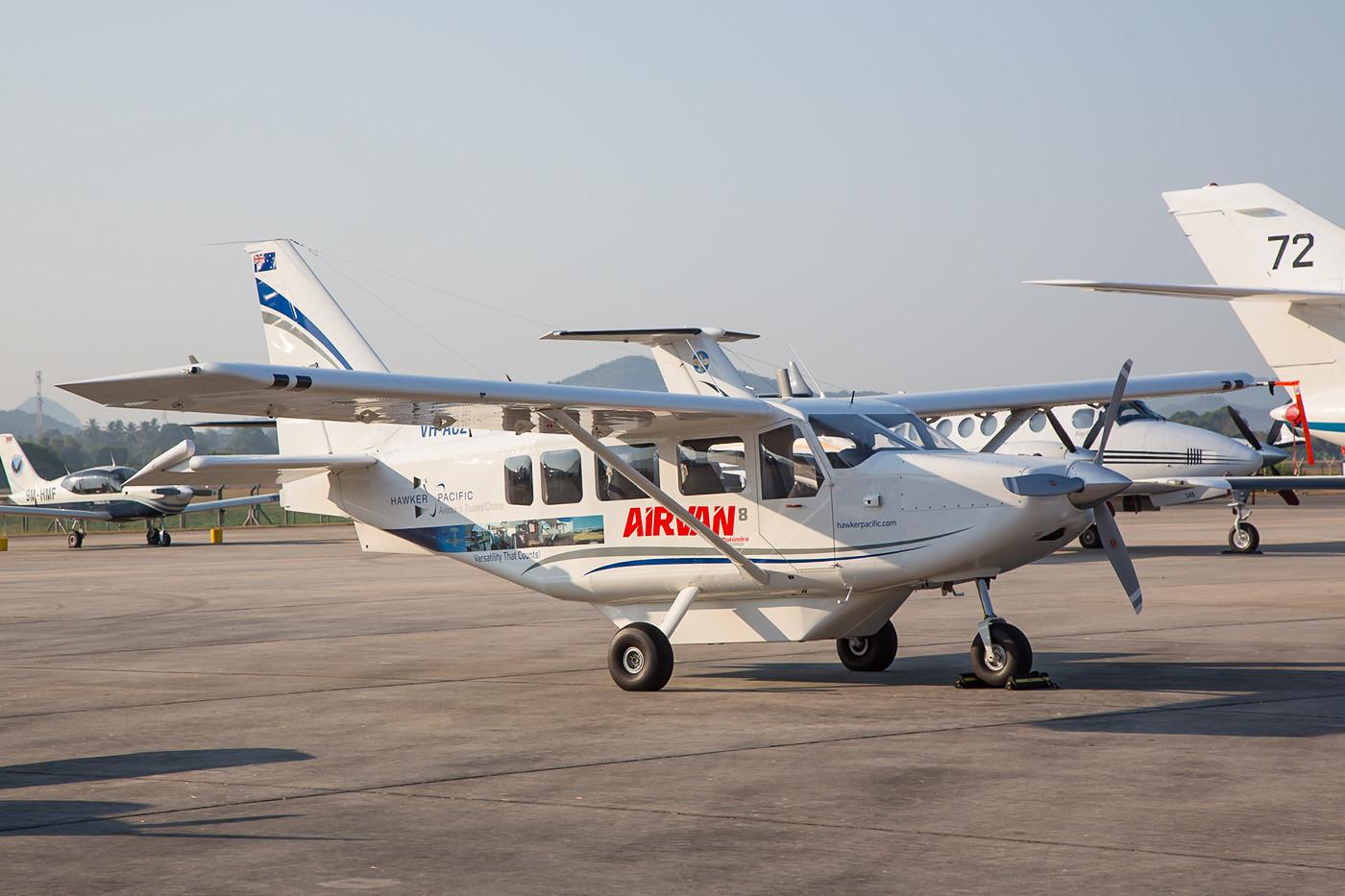 Gipsland GA-8 aus Australien, wo der Typ u.a. beim Flyind Doctor Service Verwendung findet.