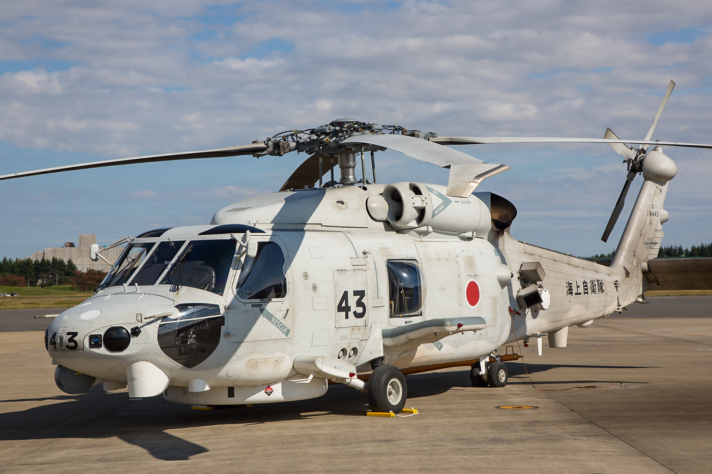 SH-60K der 21 Kokutai aus JMSDF Tateyama.