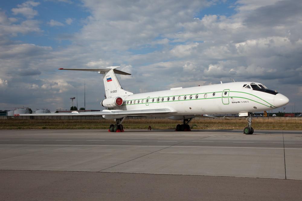 Einige TU-134 gibt es noch, wie diese von MAGAS.