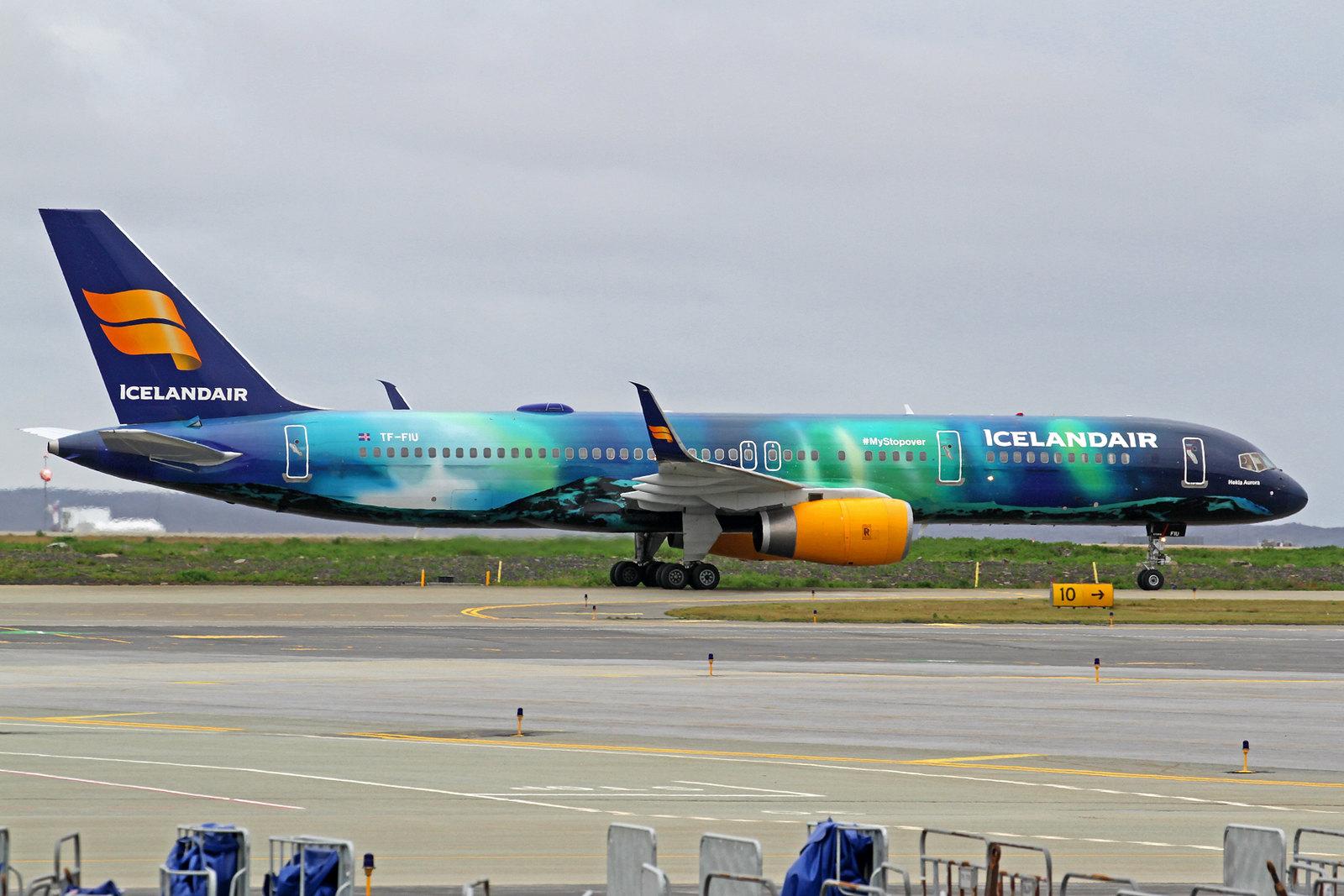"Icelandair Boeing 757-256(ET) TF-FIU ""Hekla Aurora"", KEF, 12. August 2020"