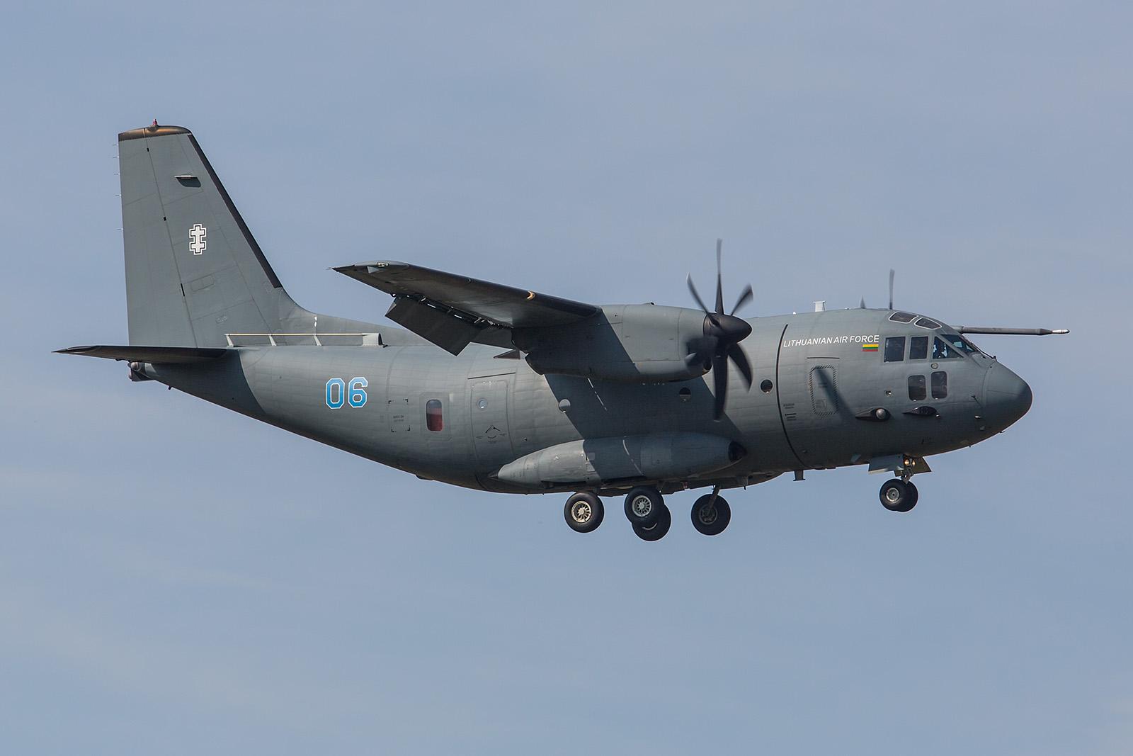 C-27J Spartan der Litauischen Luftwaffe.