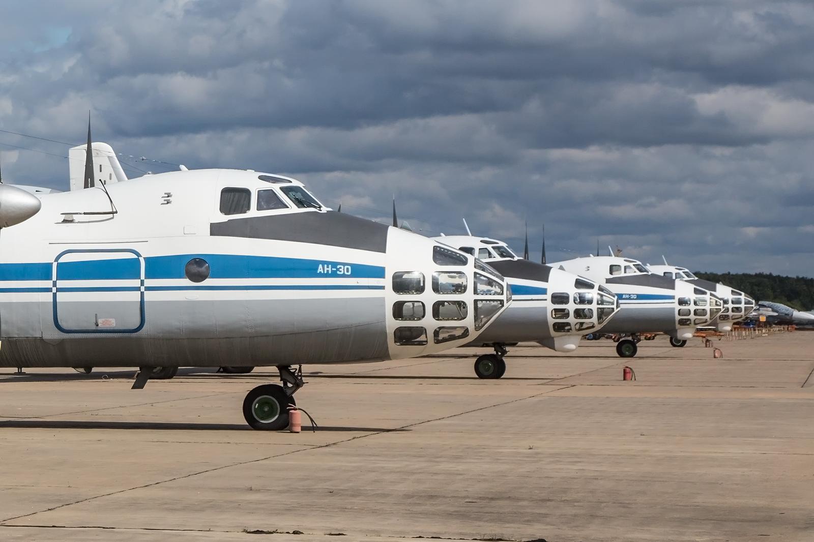"""Die Rampe der An-30 für die """"Open Skies""""-Missionen."""