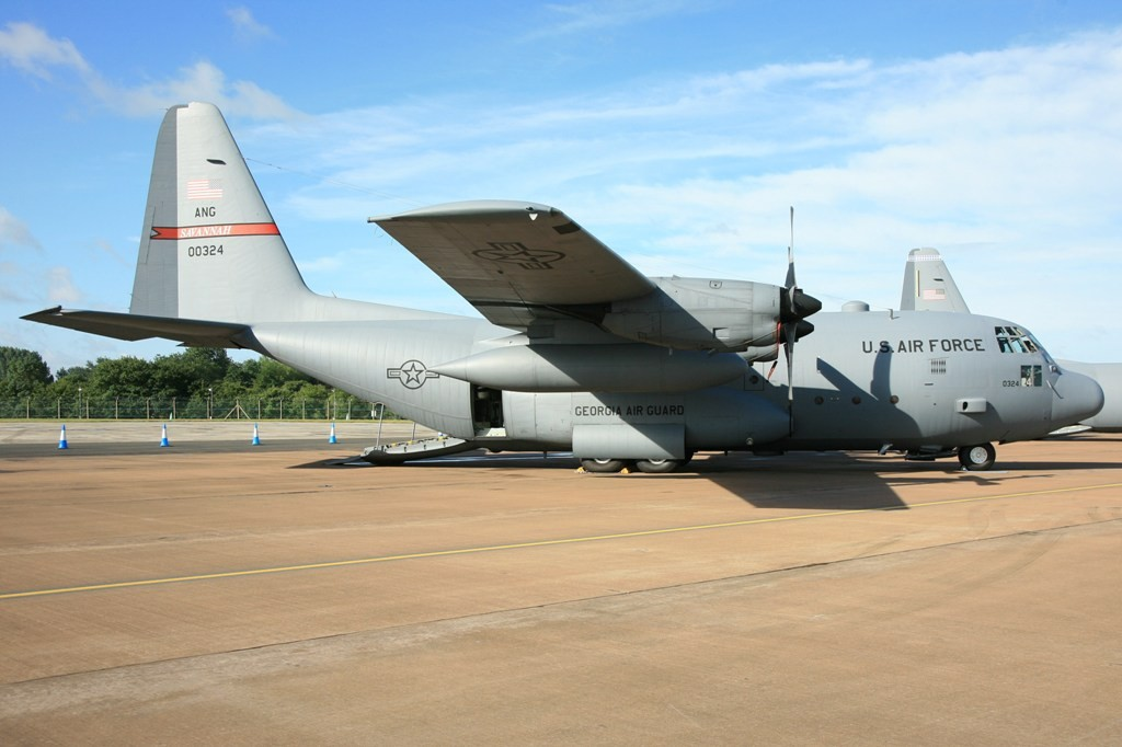C-130H der Gorgia Air National Guard aus Savannah.