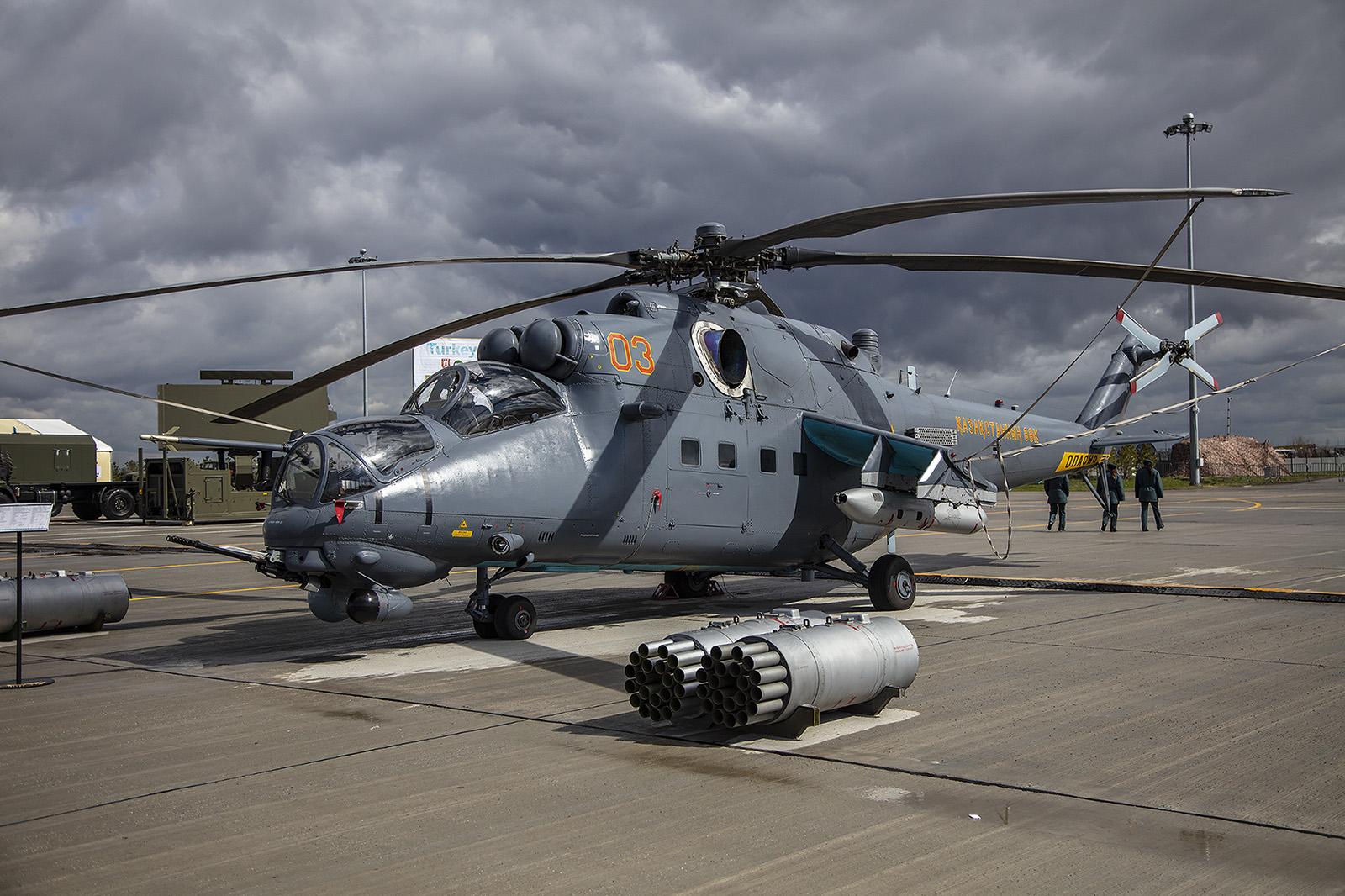 Ein brandneuer Mil Mi-35 der Luftwaffe