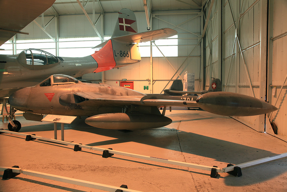 DH-112 der schweizer Luftwaffe