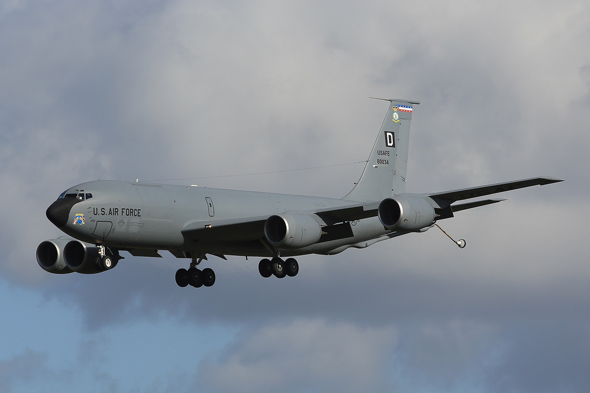 29.10.2013; 58-0034, KC-135R der 100th ARW (RAF Mildenhall)