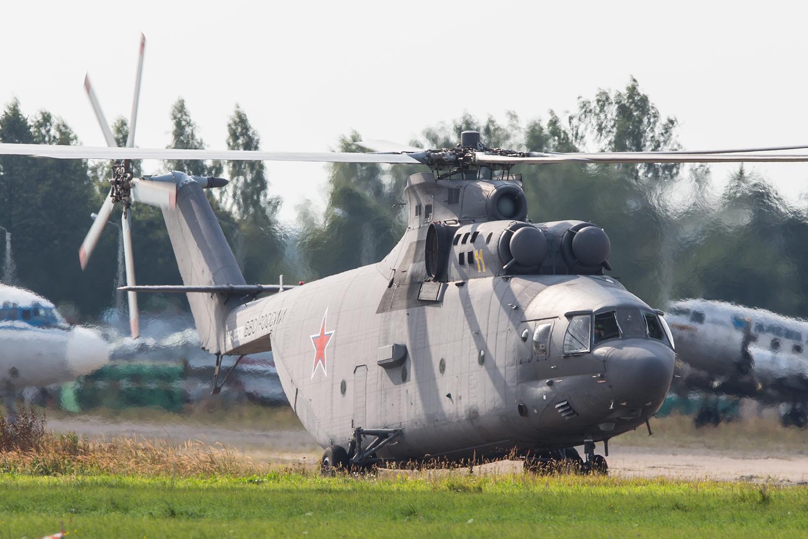 Der gigantische Mil- Mi-26.