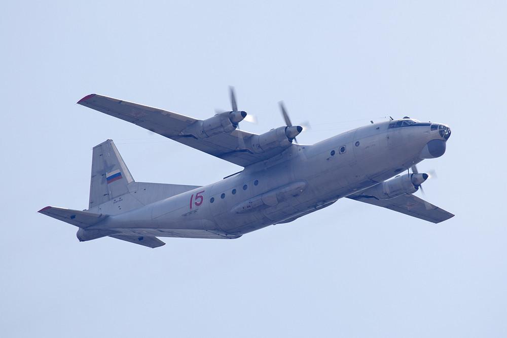 Rückgrat der Transporterflotte ist seit rund vier Jahrzehnten die AN-12.