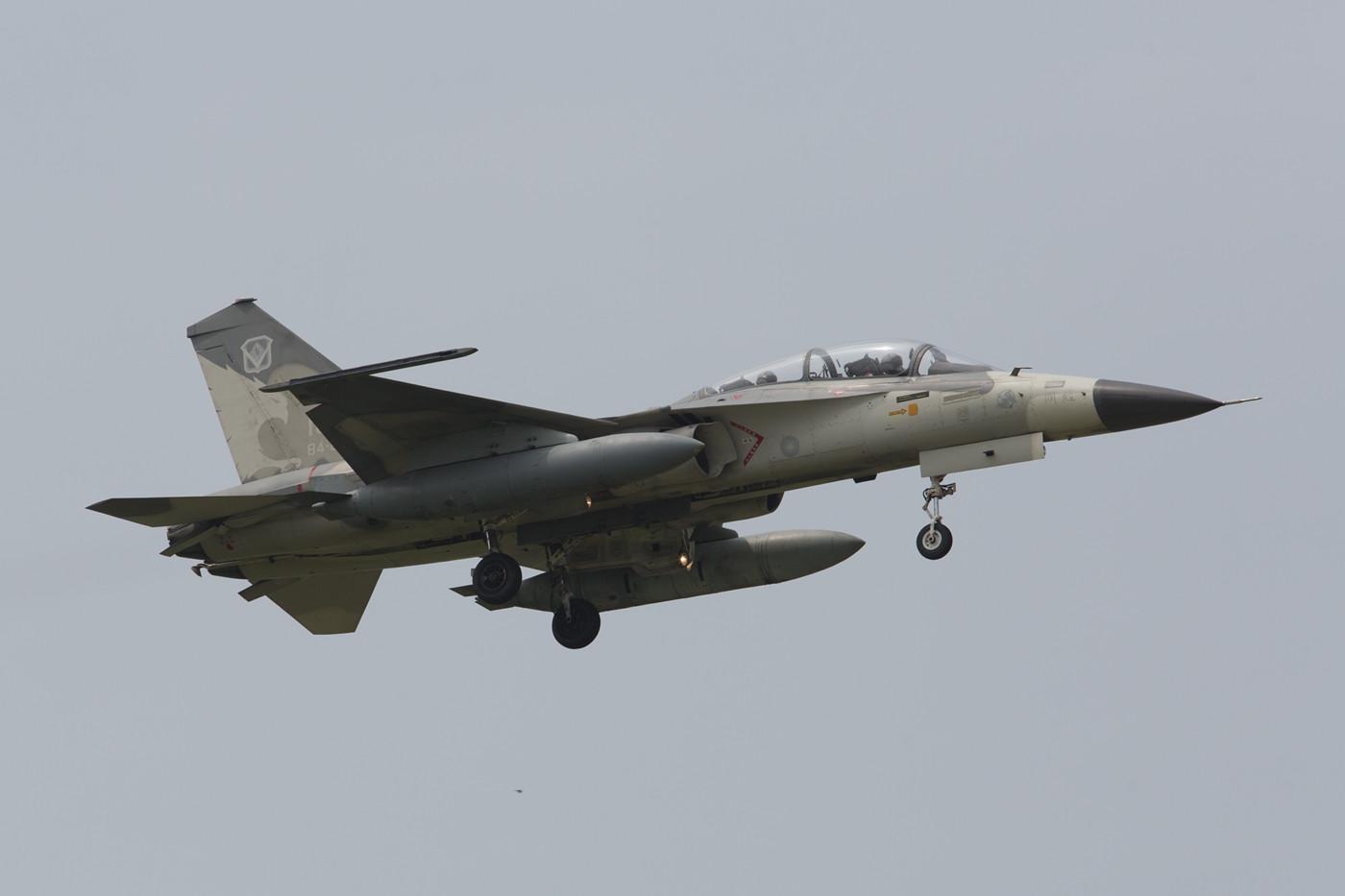 F-CK-1B der 1st TFW am Morgen.