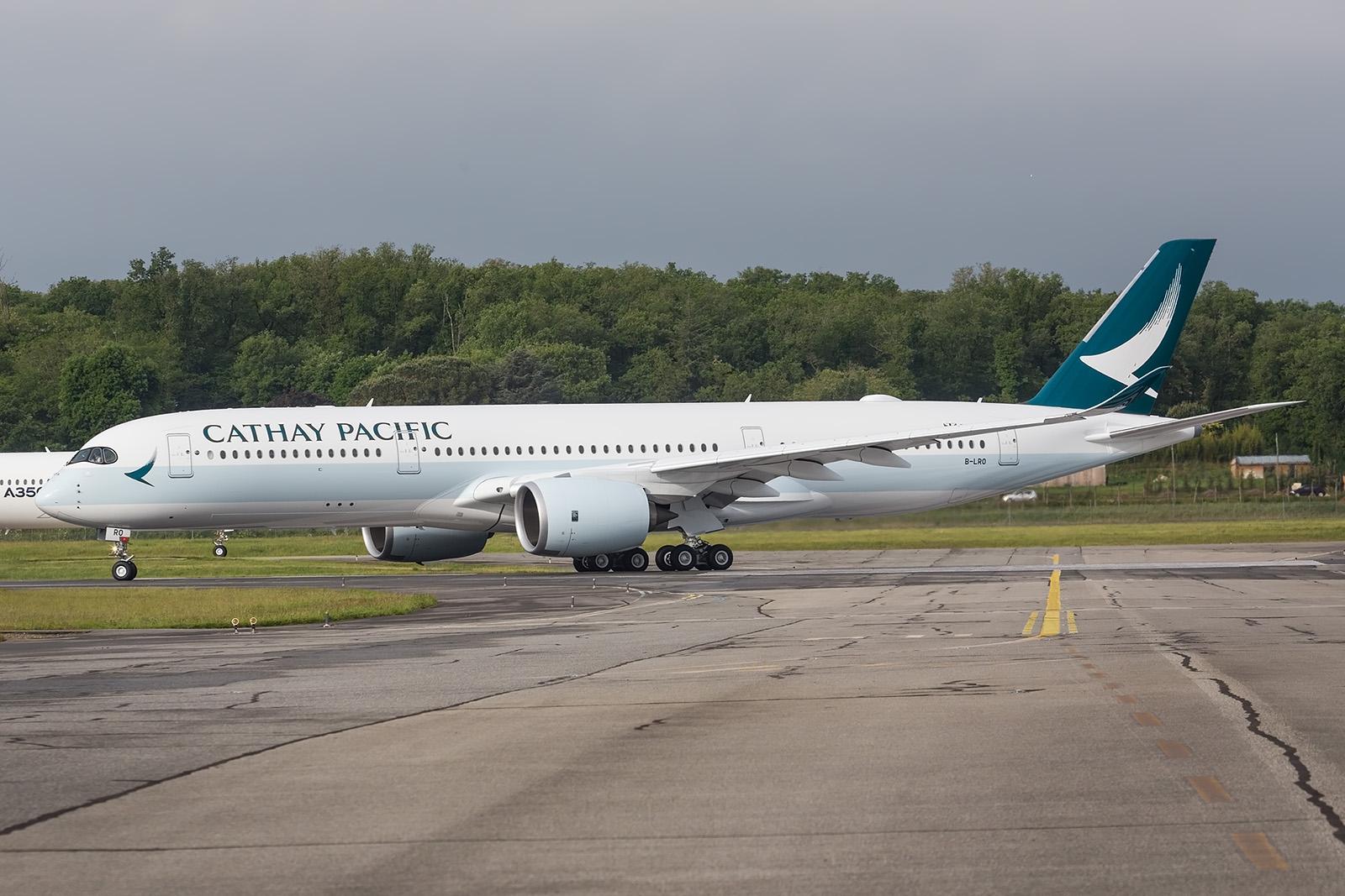 Die B-LRO macht sich auf den Weg in ihre neue Heimat Hongkong.