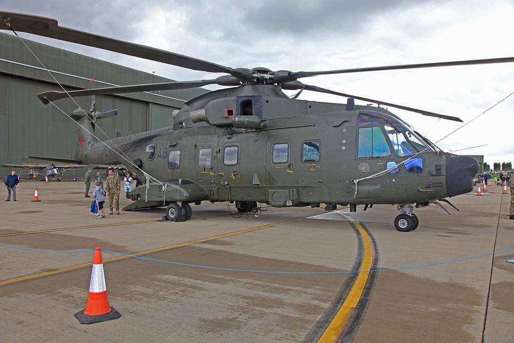 Der Merlin HC.3 aus RAF Benson.