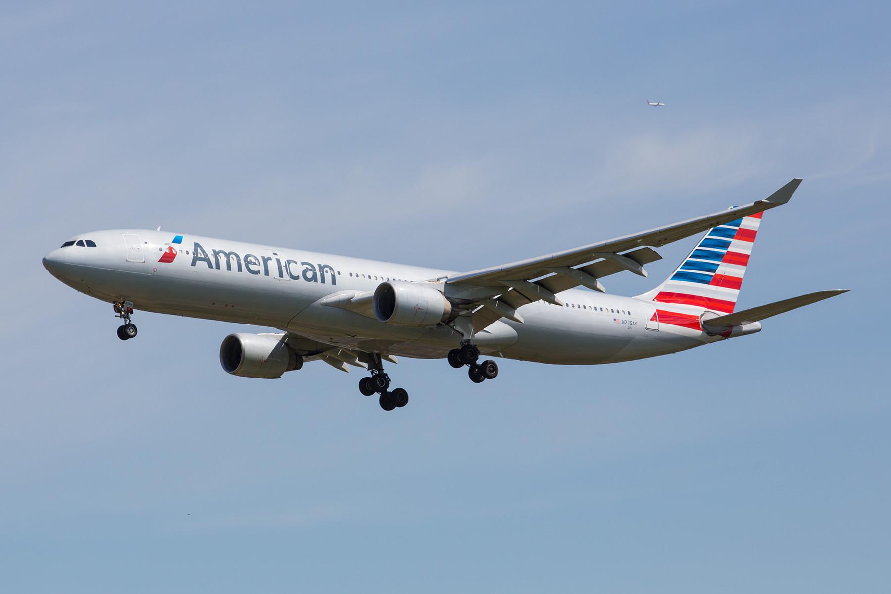 Aus der Fusion mit US Airways stammen die A 330 in der Flotte der American Airlines.