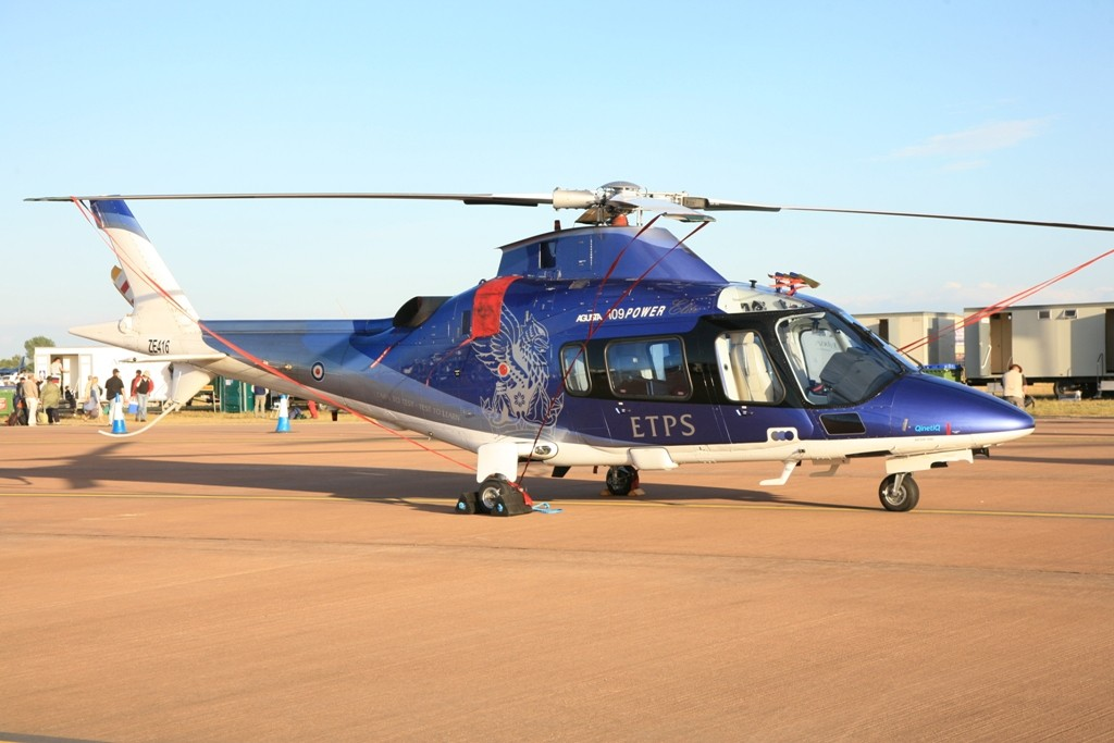 Agusta A-109 der ETPS