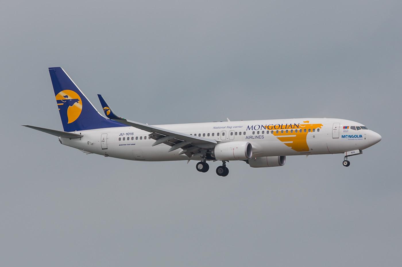 MIAT Mongalian Airways aus Ulan Bator.