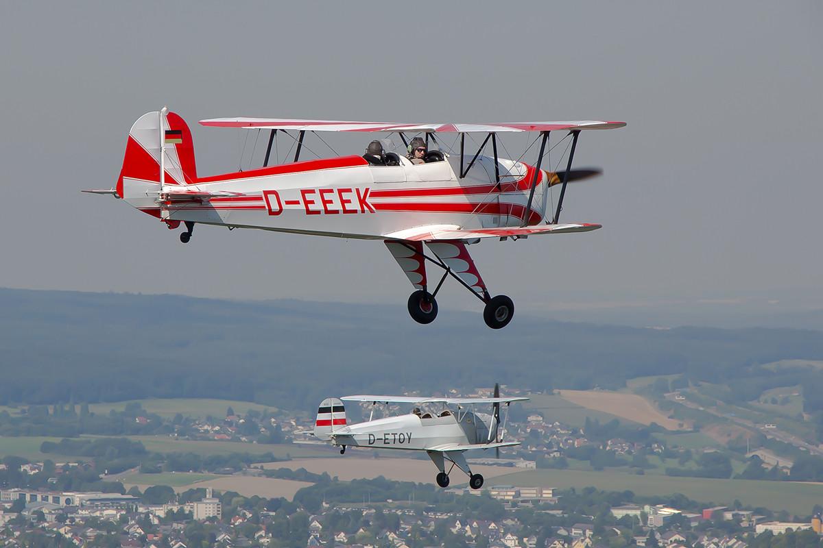 Die D-EEEK flog in Armilla als E.3B-455